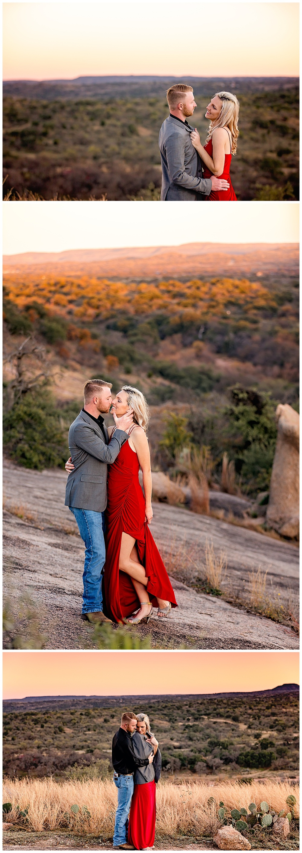 South-Texas-Wedding-Photographer-Engagement-Photos-Enchanted-Rock-Fredericksburg-Sunset-Couples-Carly-Barton-Photography_0009.jpg