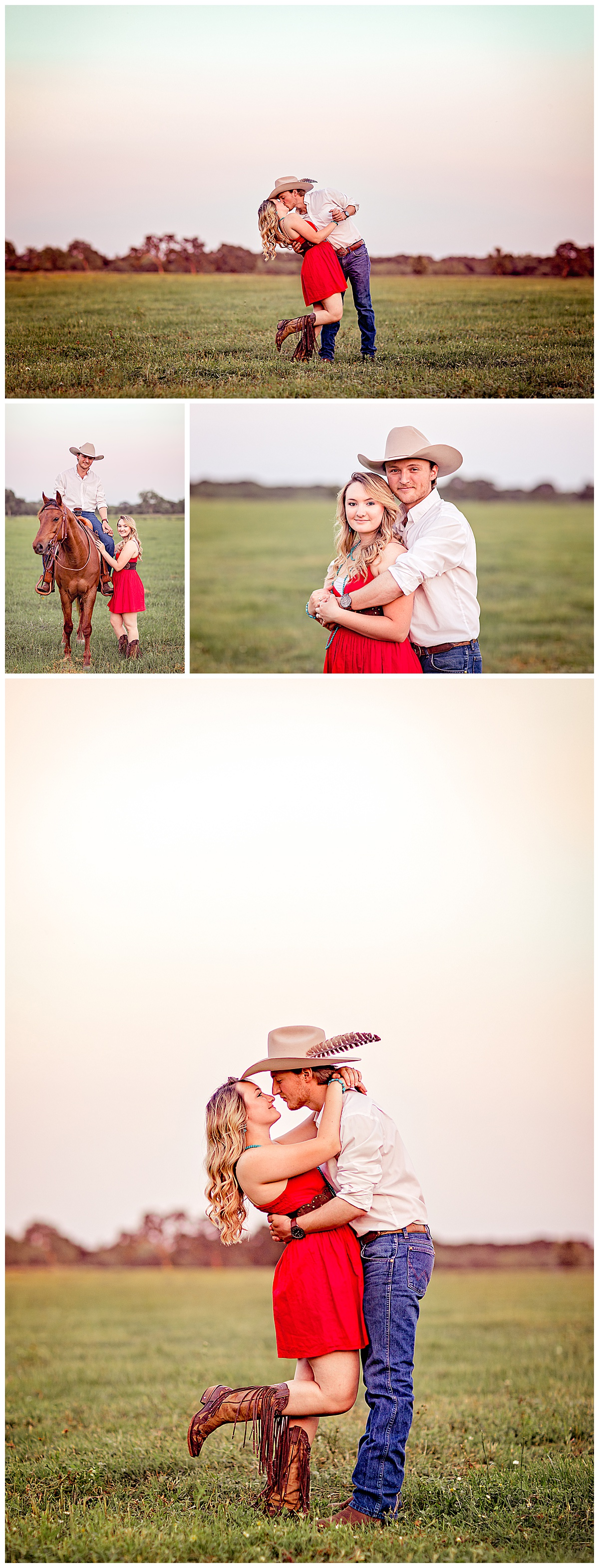 Rustic-Engagement-Session-Horse-Texas-Sunset-Carly-Barton-Photography_0004.jpg